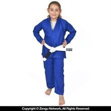 93 Brand Standard Issue Blue Kids BJJ Gi